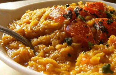dhal di lenticchie rosse - ricette vegetariane